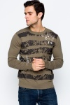 Distressed & Embossed Sweater