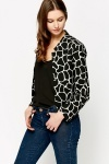 Mono Graphic Jacket