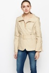 Belted Cotton Jacket