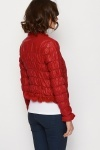 Chain Trim Quilted Jacket