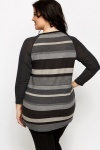 Striped Grey Tunic