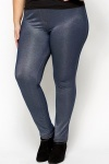 Casual Blue Denim Jeggings