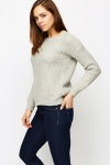 Wave Knit Pullover