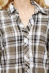 Loose Fit Checked Shirt