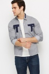 Contrast Pocket Shirt