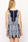 Tapestry Print Bodycon Dress