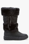 Fur Trim Snow Boots