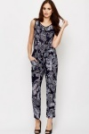 Tribal Print Jumpsuit