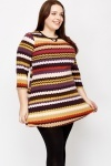 Stripe A-Line Tunic