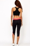 Cut Out Hem Sport Trousers