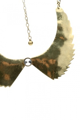 Spiked Metal Collar Necklace