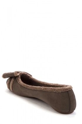 Fleece Lined Bow Flats