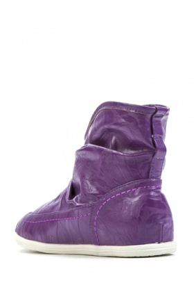 Ruched Short Boots