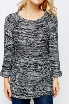 Speckle Thick Knit Jumper