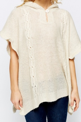 Buttoned Neck Batwing Pullover