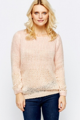 Ombre Soft Knit Pullover