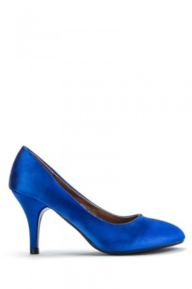 Satin Feel Court Shoes