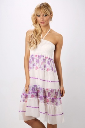 Halterneck Summer Maxi Dress