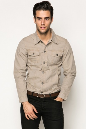 Cotton Shirt Jacket