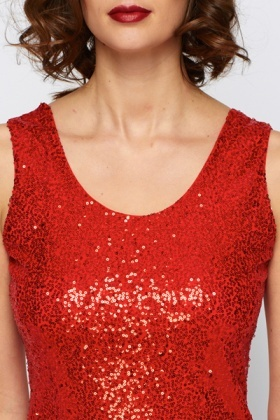 Party Sequin Bodycon Dress