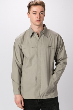 Pleated Panel Shirt