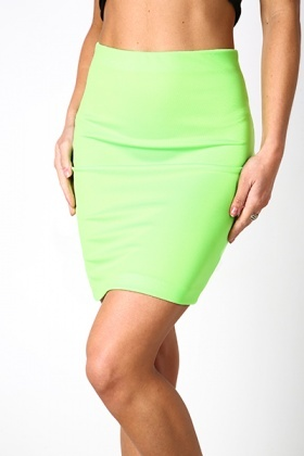 Elastic Bodycon Skirt