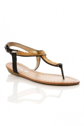 Toe Post & T-Bar Sandals
