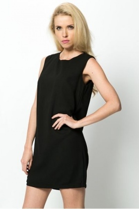 Bow Back Shift Dress