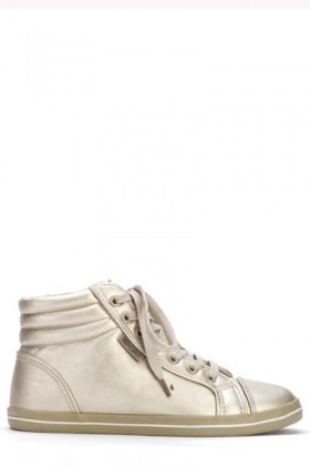 Lace Up Hi-Top Trainers