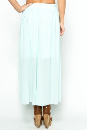Sheer Palazzo Trousers