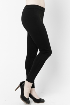 Elastic Panel Leggings