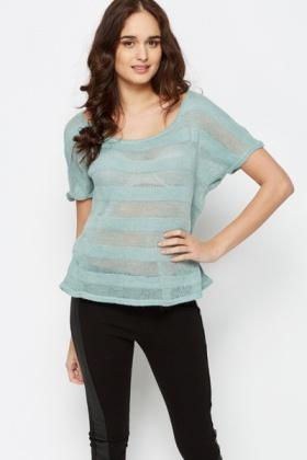 Knit Stripe Top