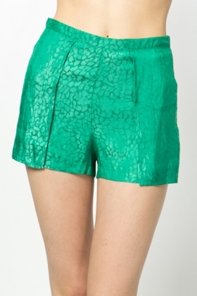 Layered & Glazed Shorts