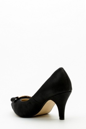 Diamante Bar Court Shoes