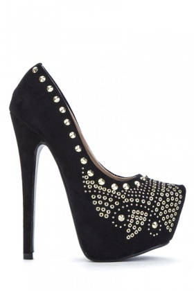 Embellished Stiletto Shoes