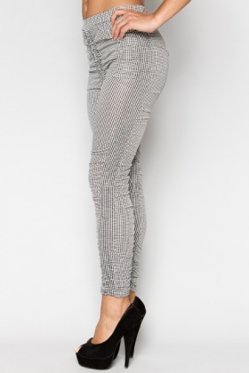 Spotted Ruched Leggings