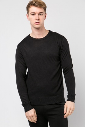 Casual Round Neck Sweater