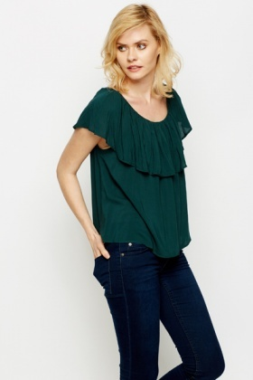 Frilled Top Tunic