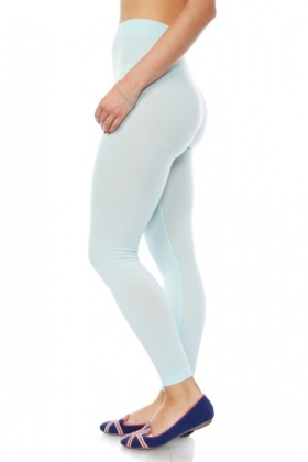 Pastel Colours Footless Tights