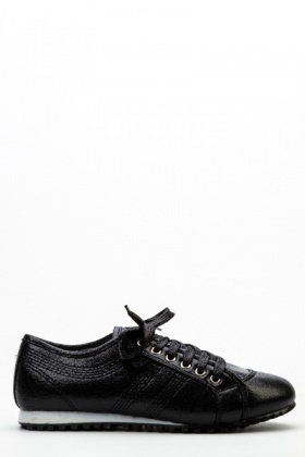 Shimmer Lace Up Shoes