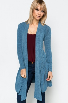 Longline Waterfall Cardigan