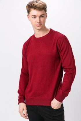 Casual Soft Knit Pullover