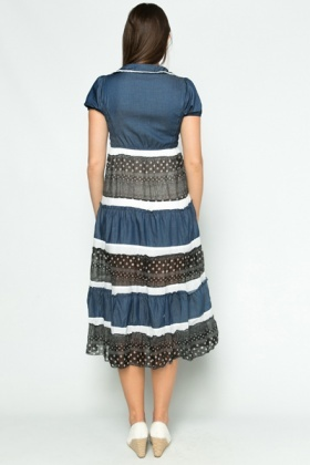 Ruched Bodice Country Dress