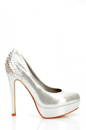 Spike Studs & Rhinestones Embellished Shoes