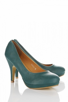 Small Platform Classic Court Shoes