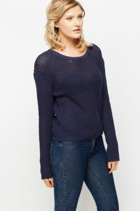 Perforated Basic Jumper