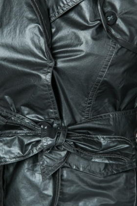 Metallic Pocket Front Jacket