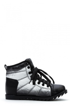 Padded Ombre Hi-Top Shoes