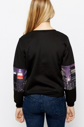 Cityscape Sweat Shirt
