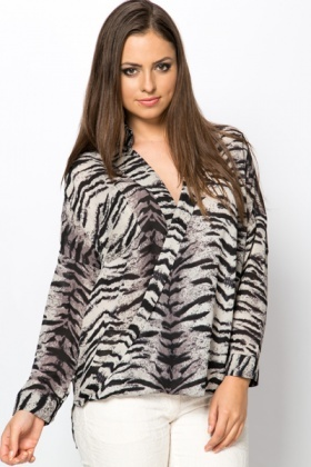 Tiger Stripe Blouse